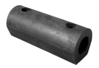 Sindby rounded rubber buffer